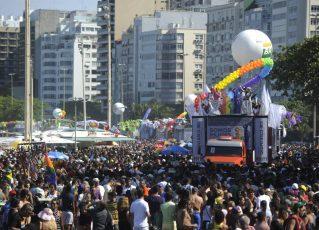 Parada Gay. Foto: Foto: Fernando Frazão/ Agência Brasil