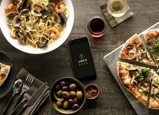 Uber lança serviço de entrega de comida. Foto: Divulgação/Uber Eats