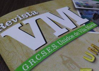 Revista VM. Foto: Assessoria da Unidos de Vila Maria