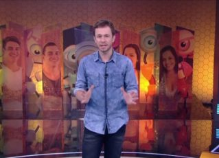 Tiago Leifert. Foto: Reprodução de TV