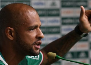Felipe Melo. Foto: Divulgação/Palmeiras