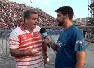 Jaime Cezário em entrevista ao SRzd. Foto: SRzd