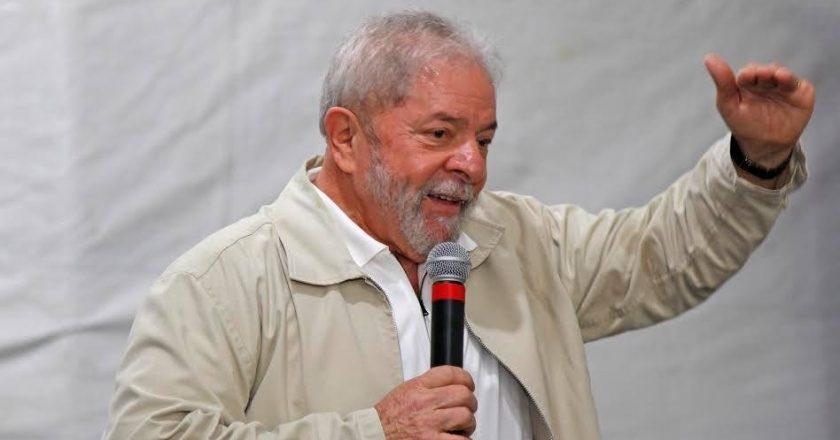Lula. Foto: Reprodução/Facebook