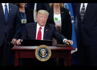 Donald Trump. Foto: Reprodução de TV
