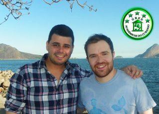 Gabriel Haddad e Leonardo Bora. Foto: Divulgação