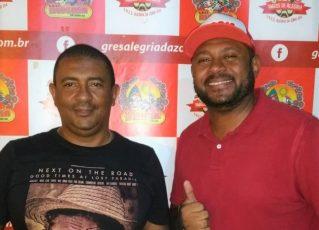 Marcus Vinícius Almeida e Flávio Azevedo. Foto: Divulgação