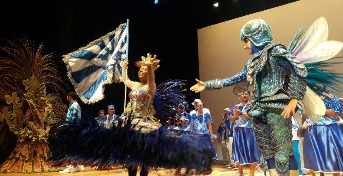 Apresentação da Portela, no Prêmio SRzd Carnaval 2017. Foto: Eliane Pinheiro