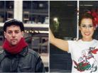 Fábio de Mello e Luciana Yegros. Fotos: Reprodução