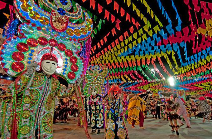 Festividade no Maranhão. Foto: Reprodução de Internet