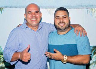 Greg Tavares e Wallace Palhares. Foto: Adriana Vieira