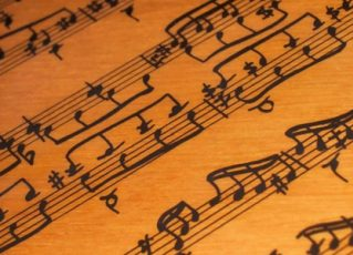 Notas musicais. Foto: Reprodução