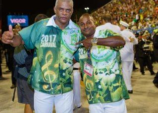 Presidente Pelé e Bobby Brown, vice-presidente. Foto: Reprodução de Internet