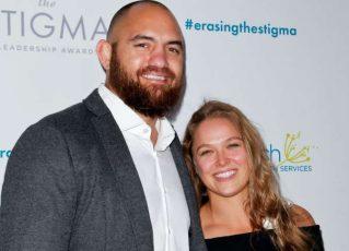 Ronda Rousey e Travis Browne. Foto: Divulgação