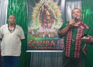 Sandro Gomes e Jorge Caribé. Foto: Geissa Evaristo
