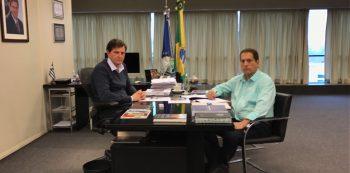Crivella e secretário de Ordem Pública, Paulo César Amêndola. Foto: Prefeitura