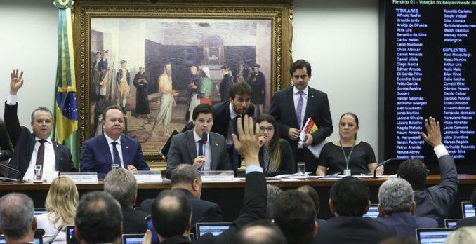 Votação da Reforma Trabalhista. Foto: Antonio Cruz/Agência Brasil