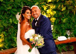 Tiririca e Nana Magalhães. Foto: Divulgação