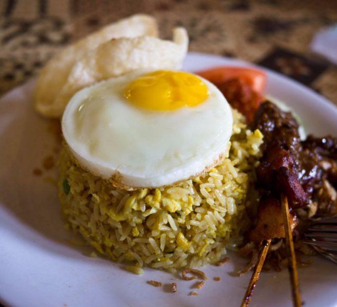Café da manhã na Indonésia. Foto: Reprodução