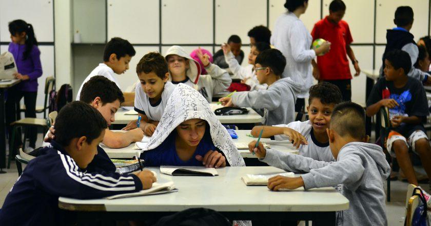 Sala de aula. Foto: Agência Brasil