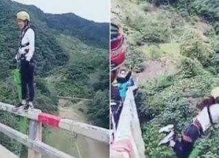 Salto de bungee jump. Foto: Reprodução de Internet