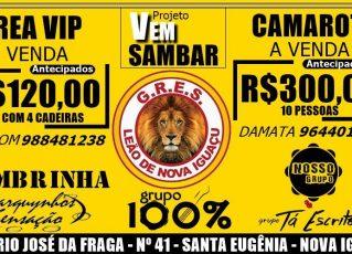 Evento na Leão de Nova Iguaçu. Foto: Divulgação