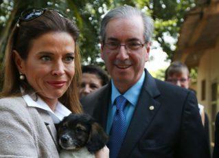 Cláudia Cordeiro Cruz e Eduardo Cunha. Foto: Reprodução de Internet