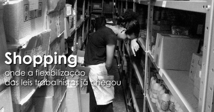 Shopping. Foto: Márcio Anastacio