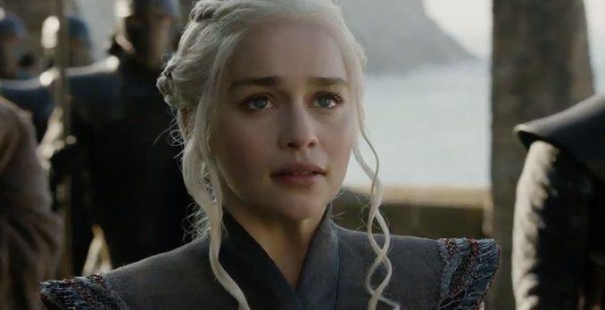 """Daenerys no trailer da 7ª temporada de """"Game of Thrones"""". Foto: Divulgação"""