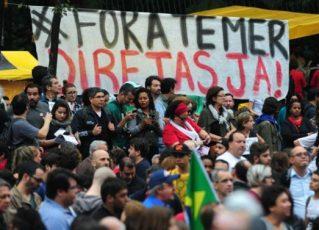 Manifestação. Foto: Divulgação