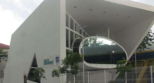 Nave do Conhecimento, na Penha. Foto: Divulgação