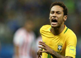 Neymar na Seleção Brasileira. Foto: Lucas Figueiredo/CBF
