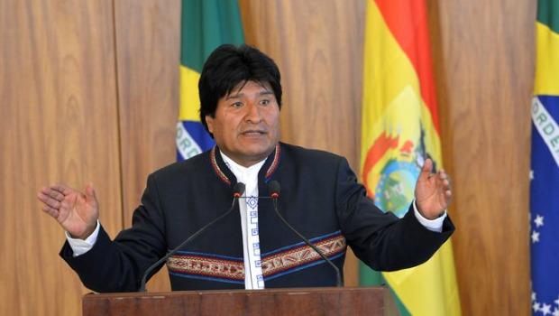 Evo Morales. Foto: Antônio Cruz/Agência Brasil