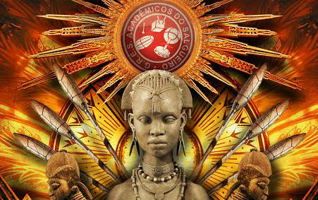 Logotipo do enredo do Salgueiro para o Carnaval 2018. Foto: Divulgação