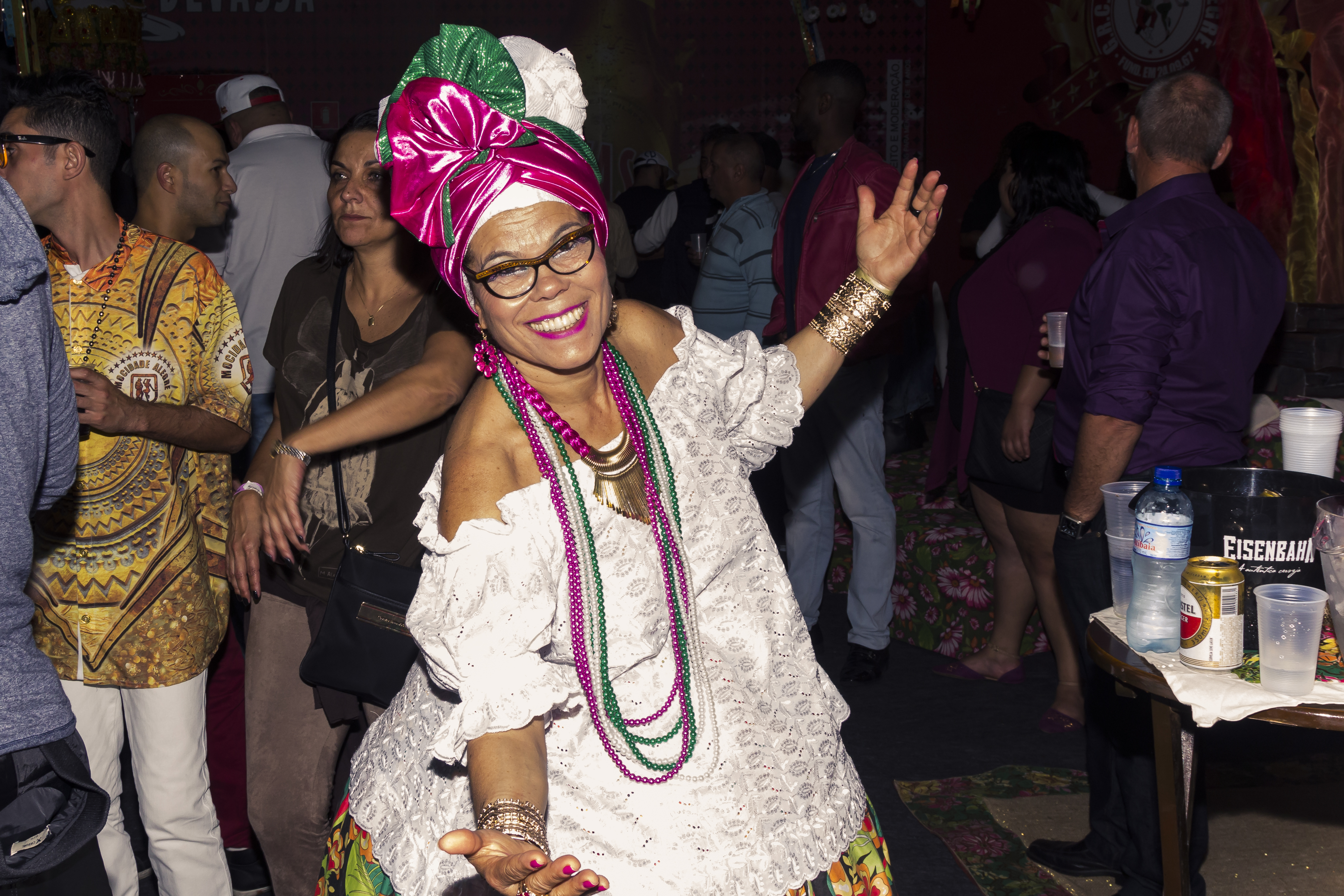 Festa de lançamento do enredo 2018 da Mocidade Alegre. Foto: SRzd - Wadson Henrique