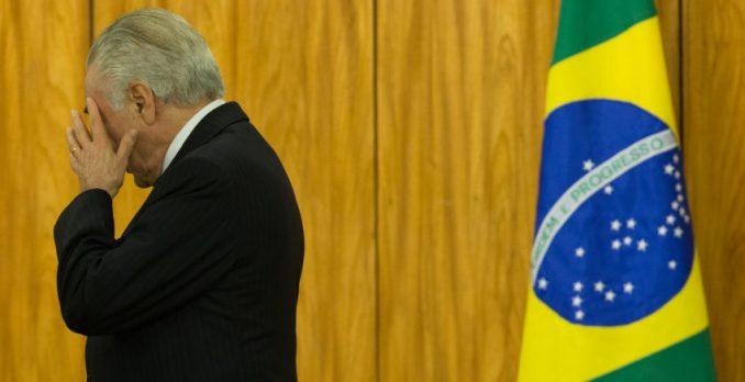 Temer durante entregas de credencias dos novos embaixadores. Foto: Lula Marques/AGPT/FotosPúblicas