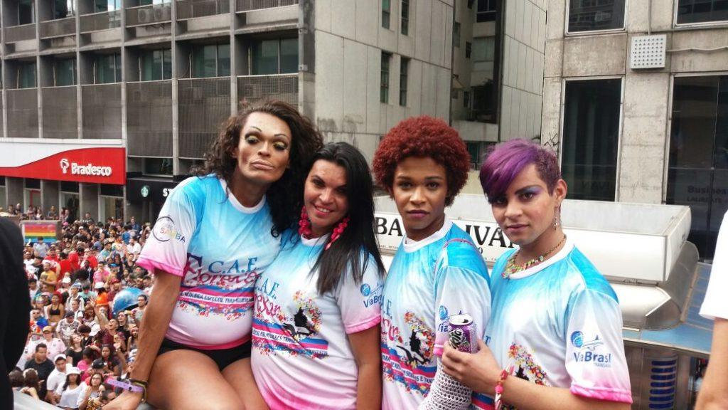 Parada do Orgulho LGBT de São Paulo. Foto: Divulgação