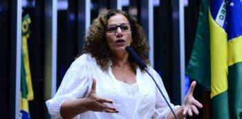 Jandira Feghali. Foto: Câmara dos Deputados/Divulgação