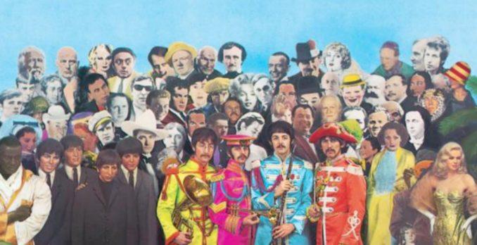 """""""Sgt Pepper's Lonely Heart's Club Band"""", dos Beatles. Foto: Divulgação"""