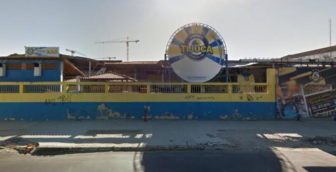 Quadra da Unidos da Tijuca. Foto: Reprodução/Google Street View