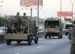 Tropas do Exército no Rio. Foto: Fernando Frazão/Agência Brasil