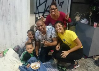 Ação Social da Unidos da Tijuca. Foto: Divulgação