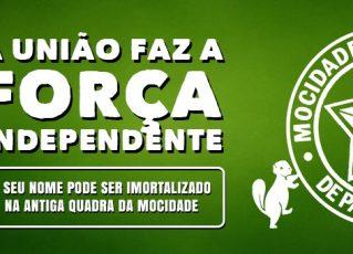 Campanha Mocidade Independente. Foto: Divulgação