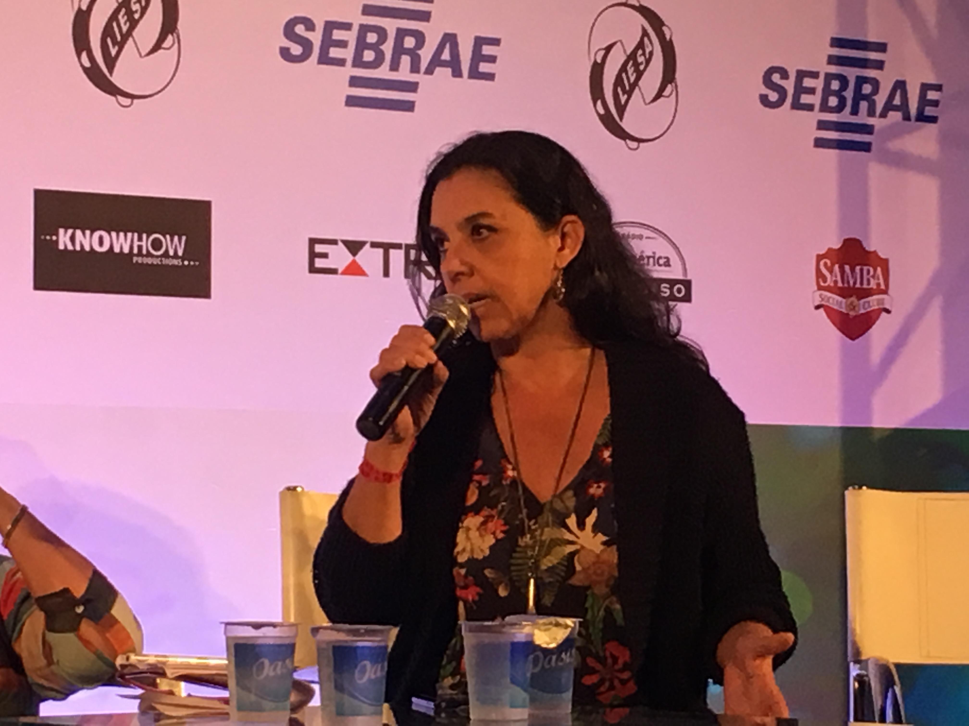 Rita Fernandes na Carnavália 2017. Foto: Max Gomes
