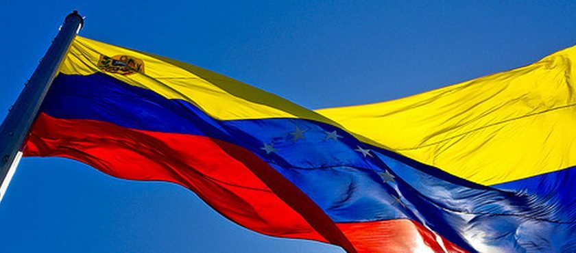 Bandeira da Venezuela. Foto: Alex Lanz