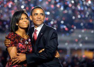Barack Obama e Michelle. Foto: Reprodução de Internet