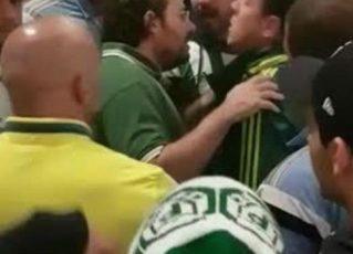 Conselheiro do Palmeiras cobrando time. Foto: Reprodução de Internet