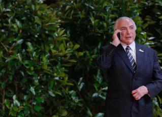 Michel Temer. Foto: Beto Barata/PR