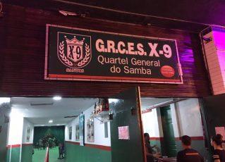 Quadra da X-9. Foto: Divulgação