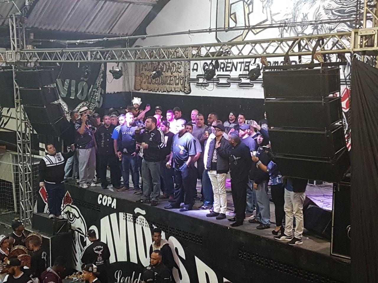Final de samba da Gaviões da Fiel 2018. Foto: SRzd - Guilherme Cruz