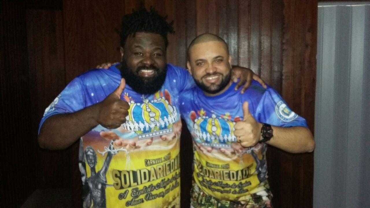 Juninho Berin e Rodrigo Atração. Foto: SRzd - Guilherme Queiroz